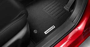 Mazda M3 BM/BN Mod Carpet Floor Mats, protect original carpet - Genuine BM11ACFM