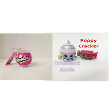 NEW Shopkins White Christmas Bauble: Ornament Annie & Gold Poppy Cracker 2016!