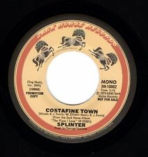 "Beatles (Splinter) ""Costafine Town"" 1974 US Dark Horse Mono/Stereo Promo Single"