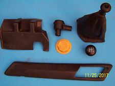 CLASSIC SAAB 900 TURBO SPG 16V CONVERTIBLE PARTS LOT-SHIFTER BOOT MOLDINGS......