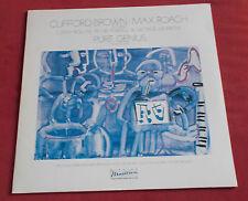 MAX ROACH   CLIFFORD BROWN   LP PURE GENIUS VOL 1   SONNY ROLLINS