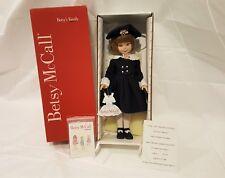 "RARE Betsy McCall American in Paris 14"" Robert Tonner Doll Certificate #283 MIB"