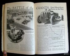 INDIANAPOLIS 500 1932 INDY 4-WHEEL DRIVE PICTORIAL LOUIS SCHNEIDER HARRY MILLER