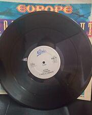 EUROPE rock the night Maxi single cbs made in ENGLAND rare 1986