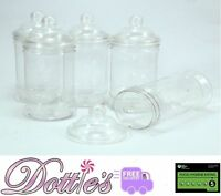 500ml Plastic Victorian Empty Sweet Shop Jars CANDY BUFFET WEDDING CHRISTMAS