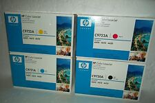 LOT-4 HP 641A Toner Cartridge Set B/C/M/Y C9720A C9721A C9722A C9723A SEALED NEW