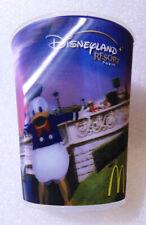 RARE Plastic Water Cup ✱ LENTICULAR DONALD DISNEY ✱ Disneyland Resort PARIS 2004