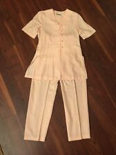 Vintage Maren Hostess Pajamas Pink Size 6 Chinese Style Frog Buttons Made In USA