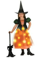 Twinkle Fibre Optic Witch Girls Size Toddler 1 - 2 Halloween Costume