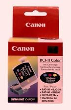 3 OEM Canon BCI-11 Color Ink Cartridge BJC-50 70 80 85 55 85w Genuine