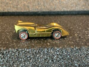 Original 1969 Hot Wheels Redline Olive US McLaren