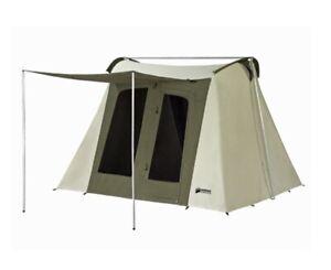 Kodiak Canvas Tent 6010 10x10 ft.  Flex-Bow 6 person.  Poles Included.