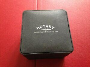 Empty Rotary Wristwatch Watch Box Case