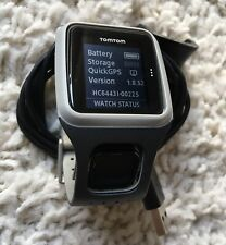 TomTom Run Cycle Swim MULTI SPORT GPS Watch, Large Strap TESTED Ref:60