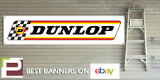 PNEUMATICO DUNLOP Banner 70th Anniversario Logo per Garage Officina, Man Grotta, Pit Lane