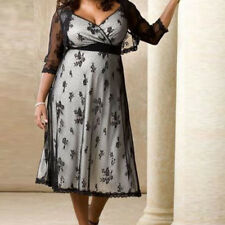 Plus Size  Women Summer Sleeveless Party Cocktail Casual Mini Dress l-5XL