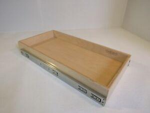 ShelfGenie Slideout Cabinet Shelf 25-1/8in L x 12-1/2in W x 3in H Birch Plywood