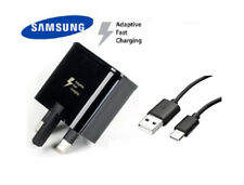 Genuine Samsung Fast Mains Charger Adapter & Cable For Galaxy Note 2 3 4 5 UK