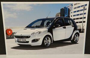 SMART CAR FORFOUR WHITE DEALERSHIP DEALER PROMO POSTCARD