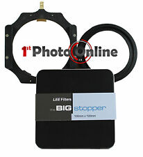 Lee 4x4 Big Stopper 10 Stop ND 100mm Filter + 4x4 Filter Holder + w/a 72mm Ring