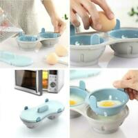 Steamed Eggs Box Creative Microwave Egg Tray Oven Microwave Kitchen Good Tw K5P8
