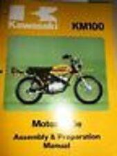 Kawasaki Assembly Preparation Manual 1976-1978 KM100