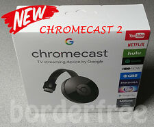 Google Chromecast Streaming Media Player (2nd Gen) ✔ BRAND NEW ✔