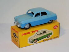 DINKY TOYS  AUTO IN METALLO FORD ZEPHYR SALOON BLU CHIARO E SCURO  ART 162