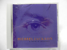 Michael Jackson - A Taste Of Invincible - RARE Single CD (ESK56696 DIDP-106828)