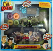 D7 Wild Kratts Adventure Set 4 Disc Holder Bag Creaturepod Night vision Goggles