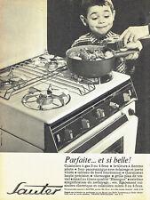Publicité Advertising 018  1963  la cuisinière gaz Sauter