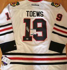 Jonathan Toews Signed Chicago Blackhawks 3XL Hockey Jersey w/Beckett COA S64600