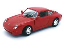 Porsche 911 Motormax de Metal 1:24 Escala Rojo