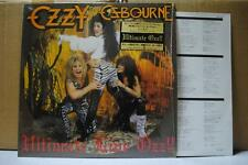 OZZY OSBOURNE / ULTIMATE LIVE - Japan LP COMPLETE