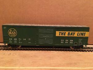 """HO Atlas Atlanta & St. Andrew's Bay """"The Bay Line"""" 50' ACF Boxcar ASAB #7114"""