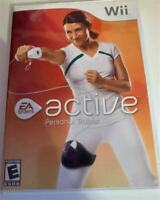 Wii Active Personal Trainer (Nintendo Wii) Complete Game Case Manual