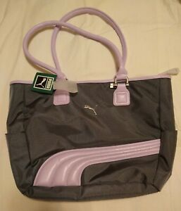 New With Tags Puma Purple Cartel Tote