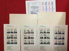 US Stamps MNH complete set of 22¢ AMERIPEX 86 FV $7.92 72619007