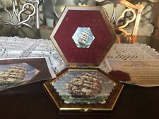 James Peters  vintage ceramic jigsaw in fitted case. 91 pieces