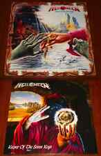 HELLOWEEN 2x LP Set KEEPER OF THE SEVEN KEYS PART I & II LTD EU PRESS VINYL New