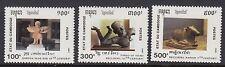 CAMBODIA :1991 Sculptures  set SG1160-2 MNH