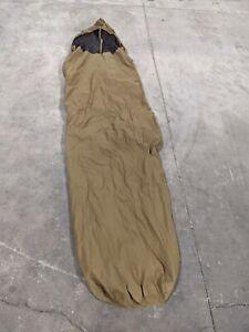 GENUINE USMC ISSUE COYOTE BIVY SLEEPING BAG COVER 3 SEASON SLEEP SYSTEM