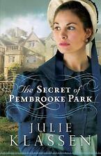 The Secret of Pembrooke Park  (ExLib) by Julie Klassen