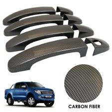 CARBON FIBRE Door Handle Covers for Ford Ranger T6 2012-2015