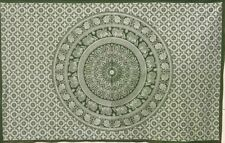 Green Indian Mandala Wall Hanging Tapestry Bedding Decor Double Table Cloth UK