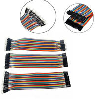 120pcs 20cm Dupont Wire Male To Male Female Jumper Cable  Breadboard ASS