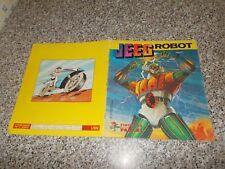 ALBUM figurine JEEG ROBOT PANINI 1979 COMPLETO MB/OTTIMO TIPO MANGA TV DAITARN