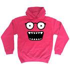 Funny Monster Face Glasses HOODIE hoody birthday cute cartoon kids funny gift