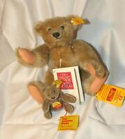 Lot Steiff Margaret Woodbury Strong Teddy Bear Replica, mini teddy 0202/11