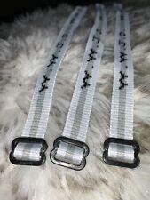 Woven Jesus Religious WWJD Bracelet Fundraiser Fashion Wristband White+Gray (1)